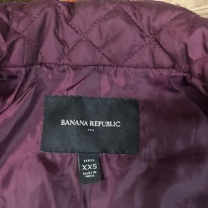 Banana Republic Jackets & Coats - Petite XXS Banana Republic Quilted Puffy Vesr